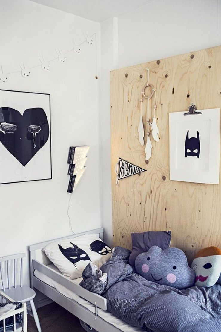 Plywood In Kids Room Mommo Design