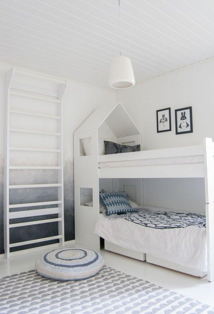 mommo design: BOYS' WORLD 北欧风格渐变墙儿童房